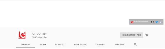Channel youtube lokal untuk belajar bahasa program
