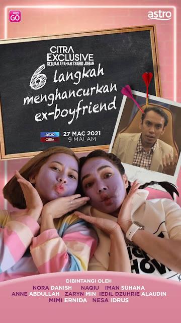 6 Langkah Menghancurkan Ex Boyfriend