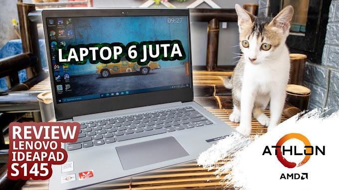 Lenovo Ideapad S145 Athlon 300U Review Laptop performa tinggi untuk kegiatan sehari hari.