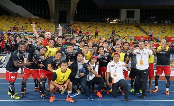 Persija Juarai Turnamen di Malaysia, Dirut: Terimakasih Jakmania