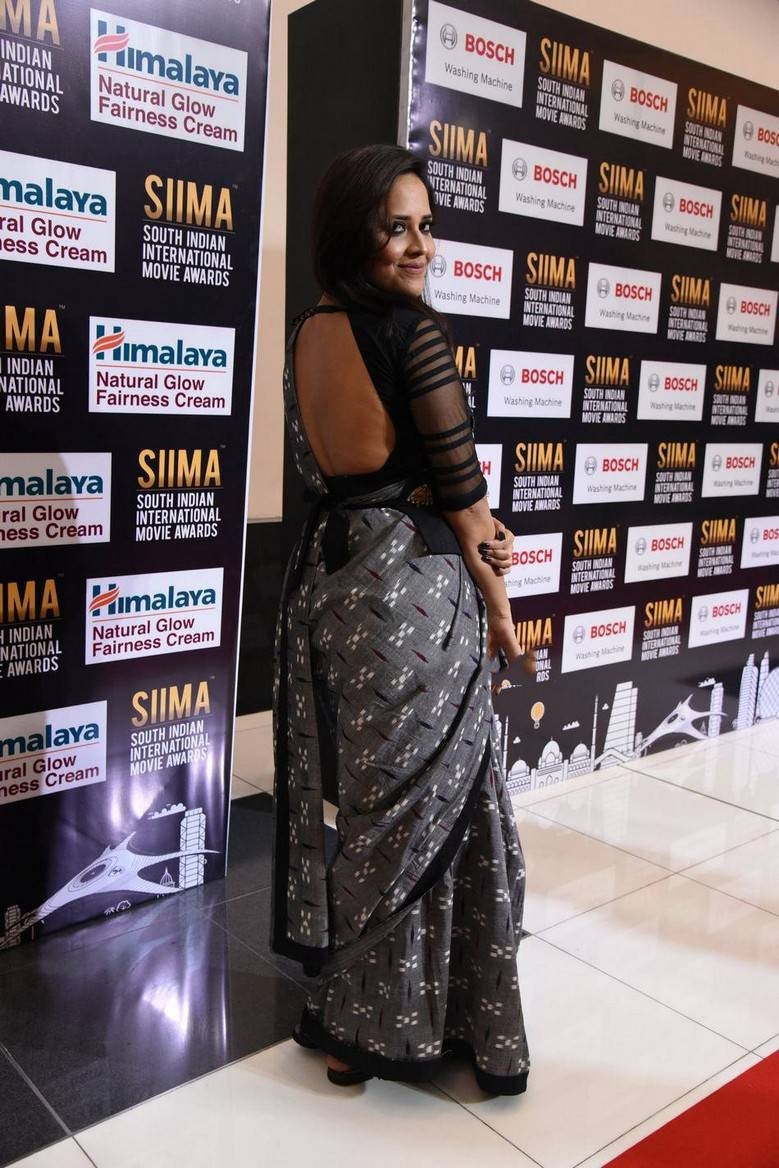 Anchor Anasuya Stills At SIIMA Awards | CineHub