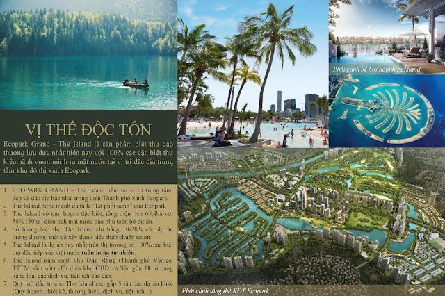 Biệt Thự Đảo Eco Park - ECOPARK THE ISLAND BAY