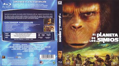 Carátula dvd / blu-ray: El planeta de los simios (1968)