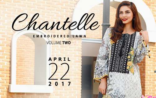 83e50d1dc9 Chantelle Embroidered Lawn Volume II 2017 by Baroque | She-Styles |  Pakistani Designer Dresses - Fashion Weeks - Lawn Collection
