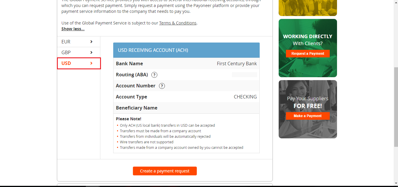 How to Link Payoneer Bank with Paypal Account 2019 - PAYPAL