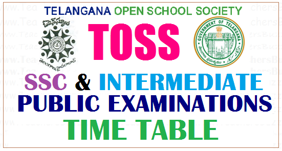 TOSS TIME TABLE