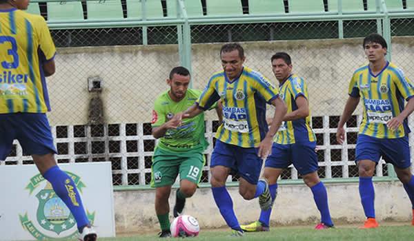 Horizonte e Maranguape ficam igualados em jogo amistoso no Domingão