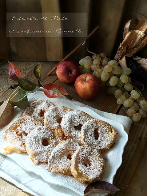 ricetta frittelle di mele al profumo di cannella
