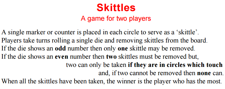 Math Love Skittles Game By Frank Tapson