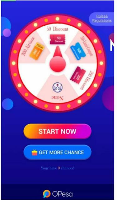 Opesa wheel of fortune