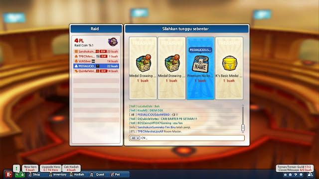Premium Nickname (Change Nickname) dari Mode Raid Lost Saga