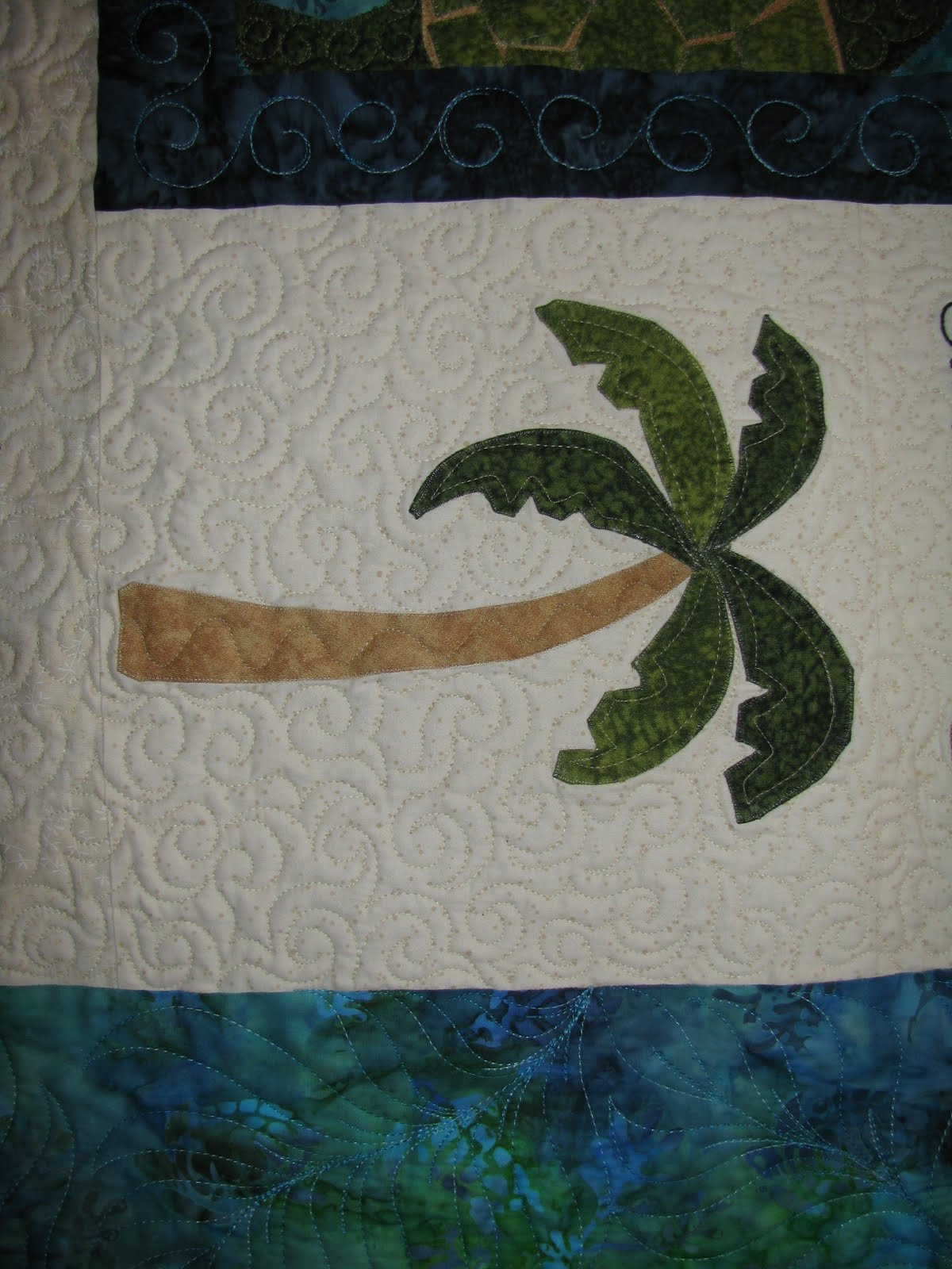 Just Another Day In Paradise Again Mission Memory Quilt