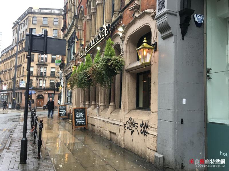 [英國] 曼徹斯特市區【The English Lounge】星期日的特別菜單SUNDAY ROAST