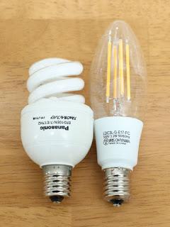 アイリスオーヤマ LED電球 フィラメント 口金直径17mm 40W形相当 電球色 全配光タイプ クリア LDC3L-G-E17-FC パナソニック パルックボールプレミア EFD10EN/7/E17H2