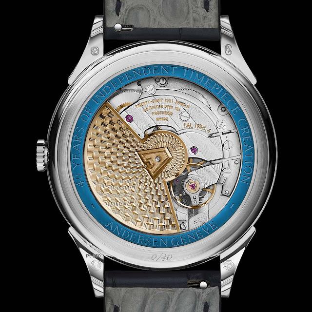 Andersen Genève Jumping Hours 40th Anniversary in Platinum