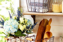 34 #Rustic #Farmhouse #Baskets #and #Bins #for #Organizing
