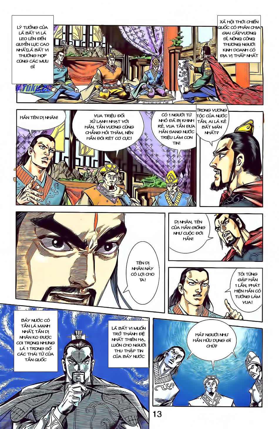 Tần Vương Doanh Chính chapter 3 trang 15
