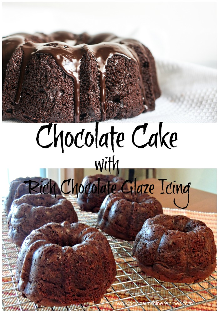 Ultimate Chocolate Cake With Homemade Icing Dessert Recipe