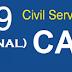 Civil Service Exam Result March 2019 - CARAGA (Professional Level)
