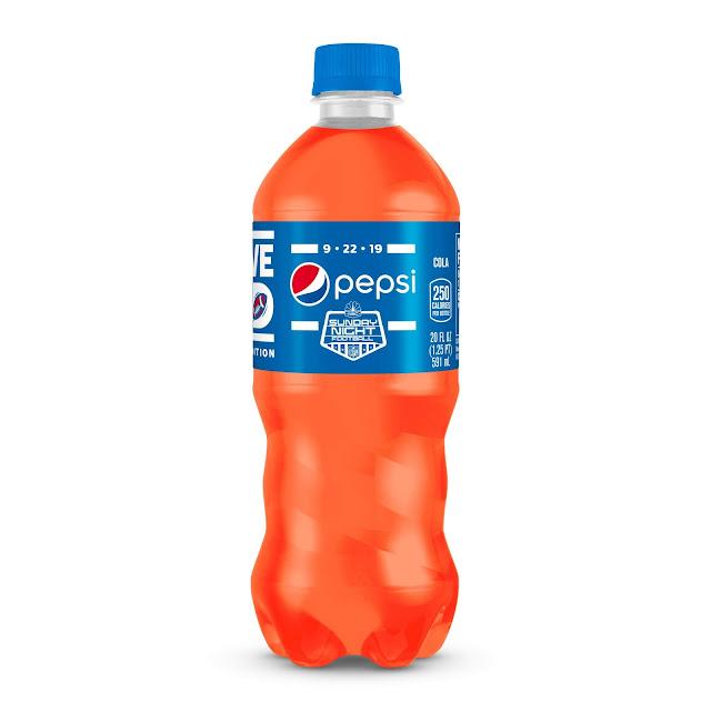 Pepsi Turns Orange To Celebrate Return Of NBC's Sunday
