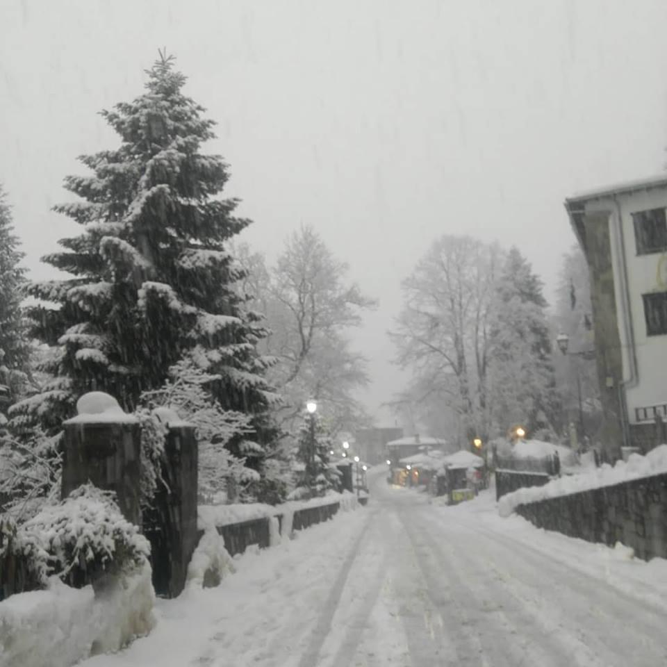 """Ιωάννινα:  Ο """"Φοίβος"""" ..οι Βροχοπτώσεις και  τα χιόνια στα ορεινά ..."""