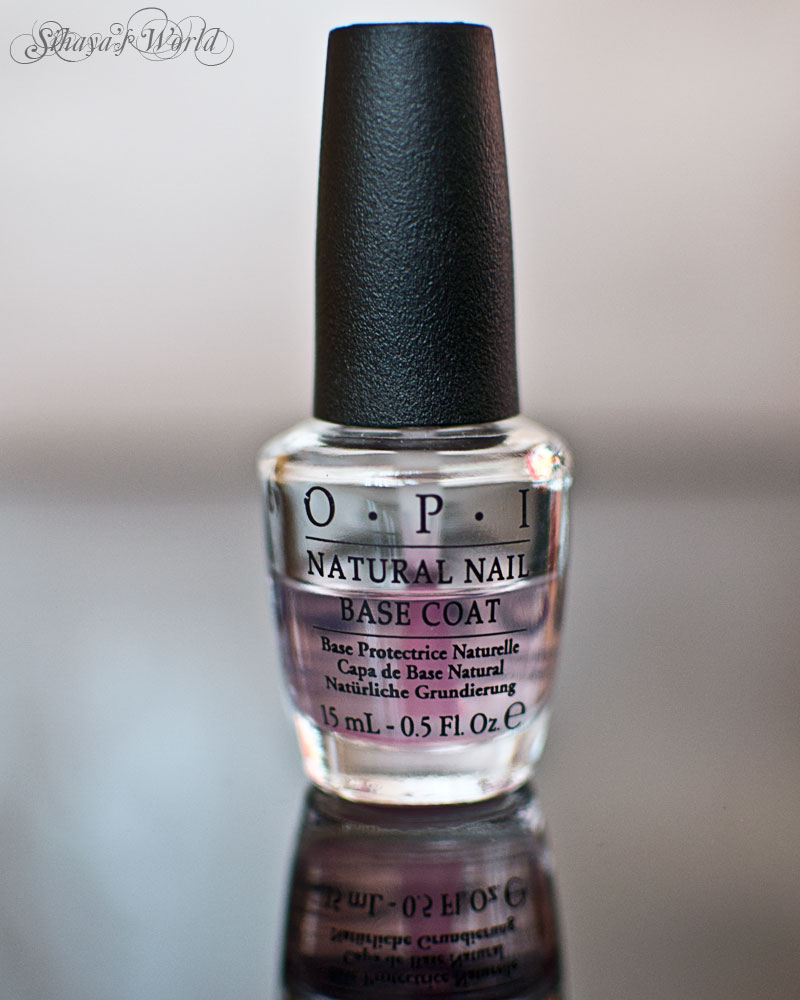 opi natural base coat