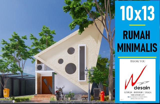 Desain Rumah Unik Sederhana 10x13 Desain Rumah Minimalis