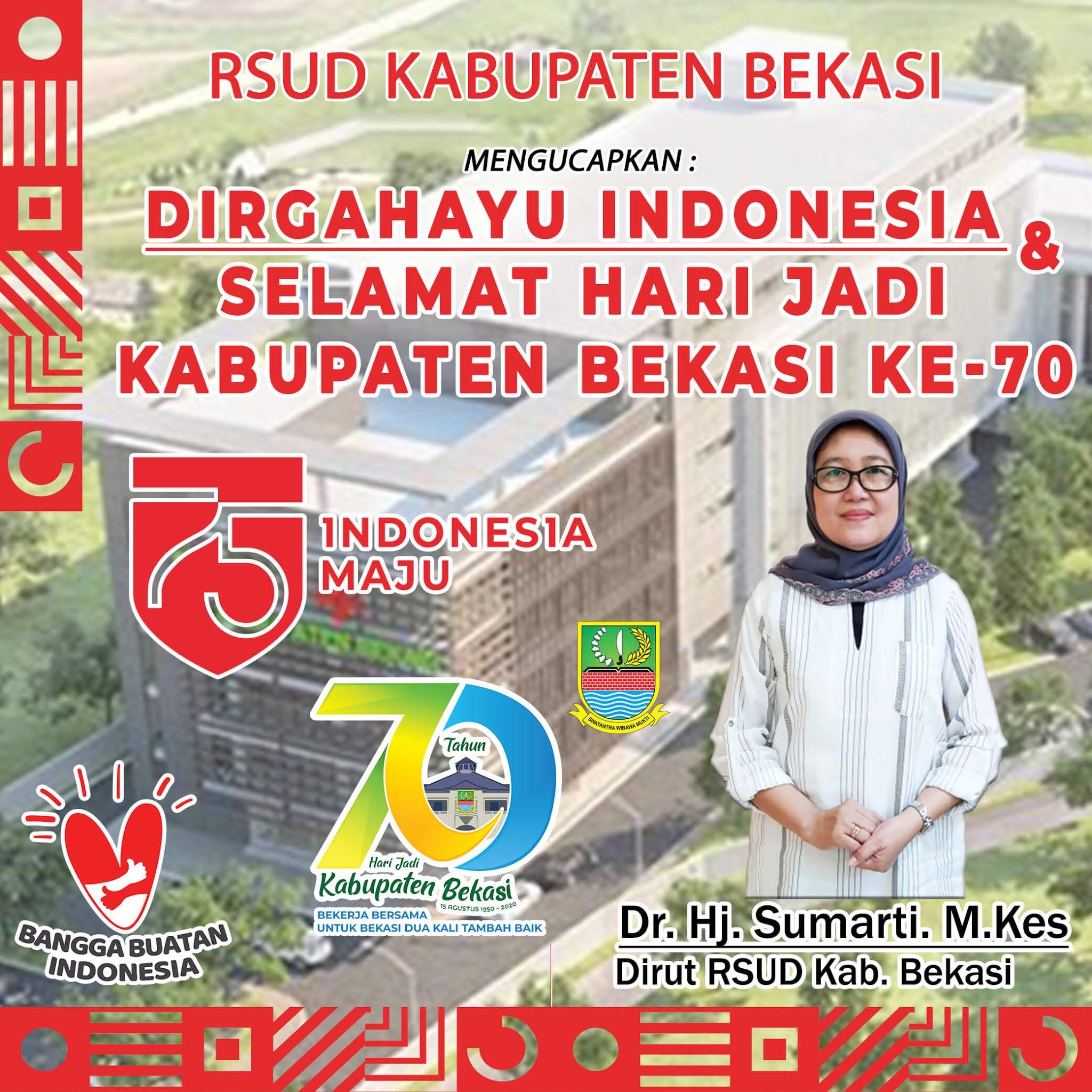 Dirut RSUD Kab. Bekasi Dr. Hj. Sumarti. M.Kes by LensaHukum.co.id