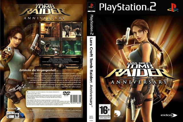 Descargar Lara Croft Tomb Raider - Anniversary ps2 iso NTSC-PAL. Es el octavo videojuego de la serie Tomb Raider y fue puesto a la venta en 2007.