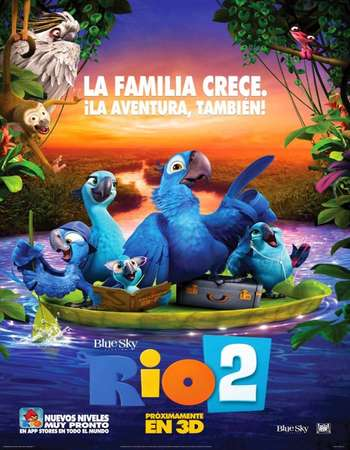 Rio 2 2014 Hindi Dual Audio BluRay Full Movie Download