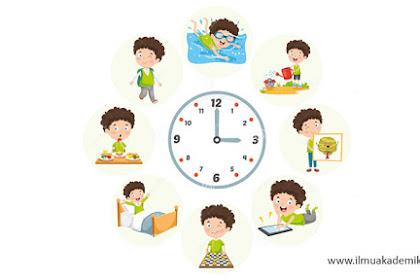 Contoh Jadwal Kegiatan Sehari-hari dalam Bahasa Arab dan Artinya