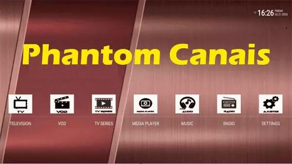 تحميل Phantom Canais لمشاهدة أقوى القنوات العالمية مجانا
