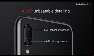 redmi note 7 pro, 48MP camera