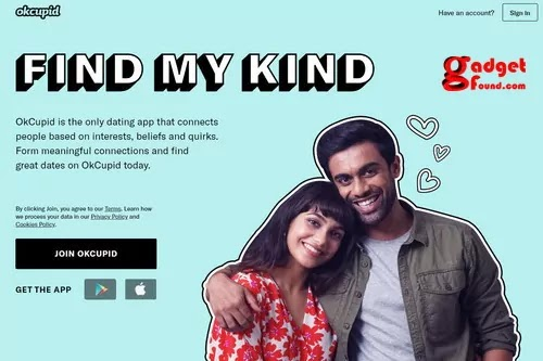 OkCupid : Backpage Alternatives