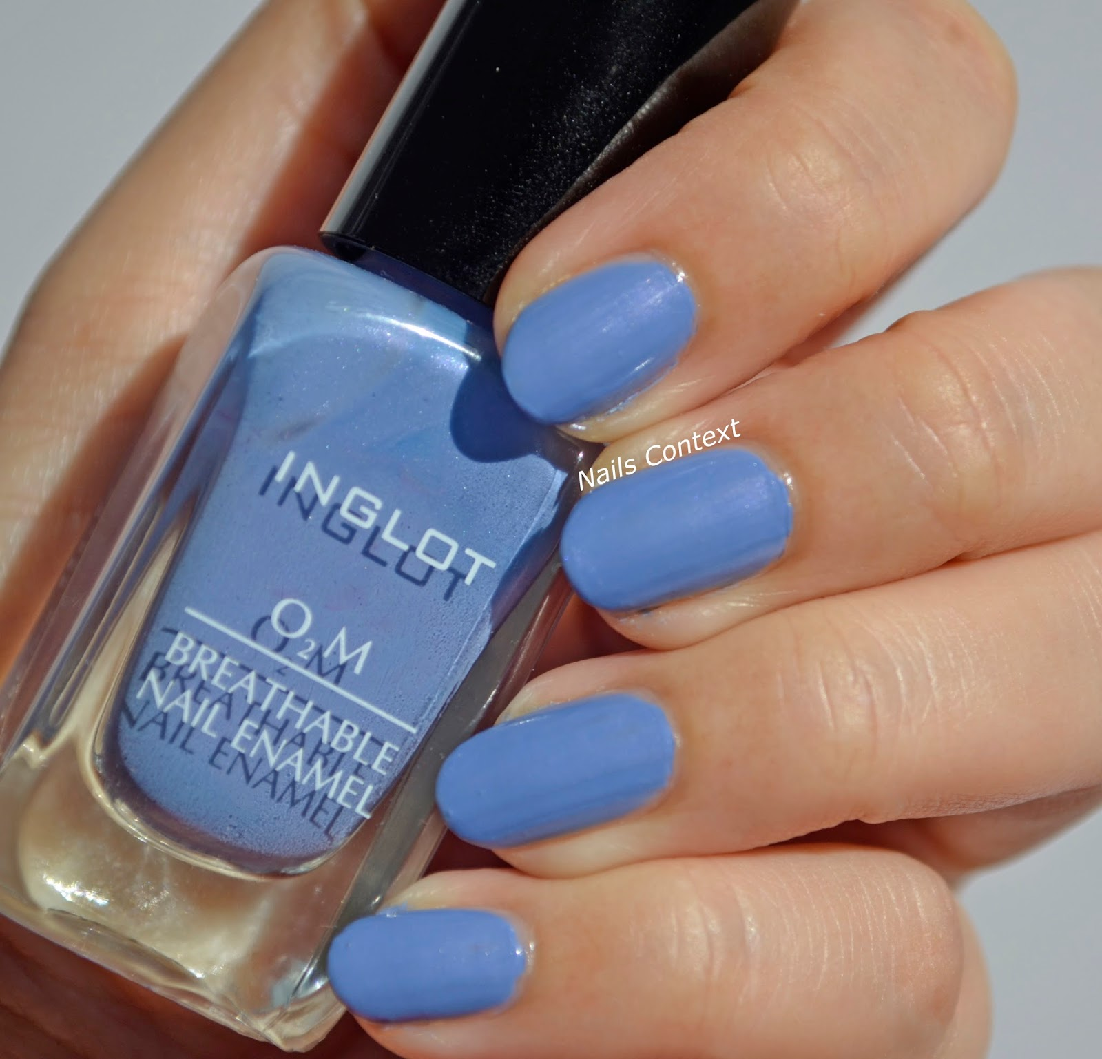 Nails Context: Inglot Breathable Nail Enamel