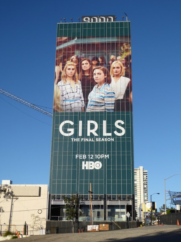Giant Girls final season 6 billboard