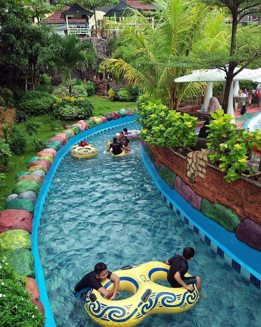 Waterpark Terbesar di Lampung
