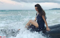 Television actress Aashka Goradia in Bikini on a trip to the Andaman islands ~  Exclusive 008.jpg