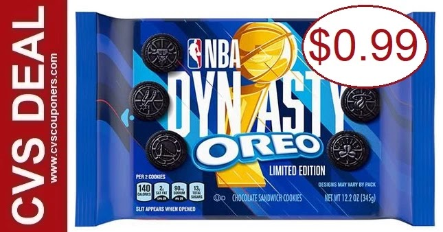 Oreo Cookie Family Size Bag CVS Deals