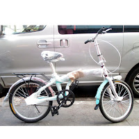 20 odessy atx20 single speed folding bike