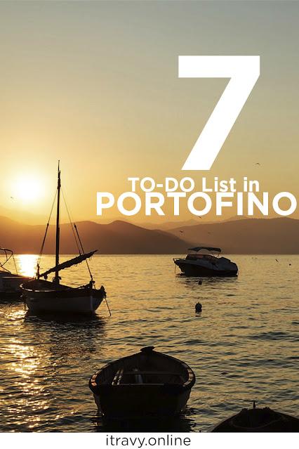 iTravy - 7 To-Do list in Portofino
