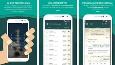 Aplikasi AlQuran Lengkap dengan terjemaham