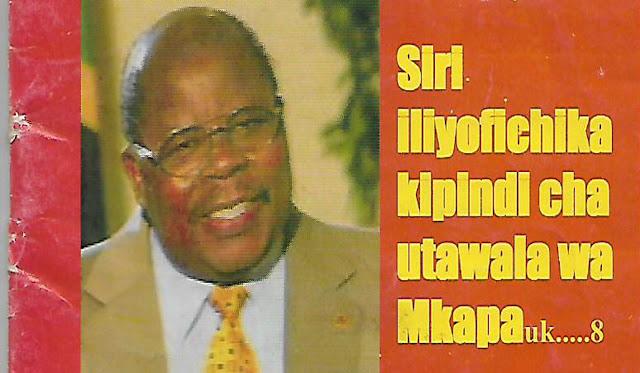 Hayati Rais Benjamin William Mkapa