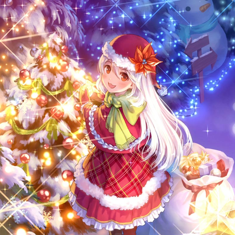 Nightcore - Jingle Bells Wallpaper Engine