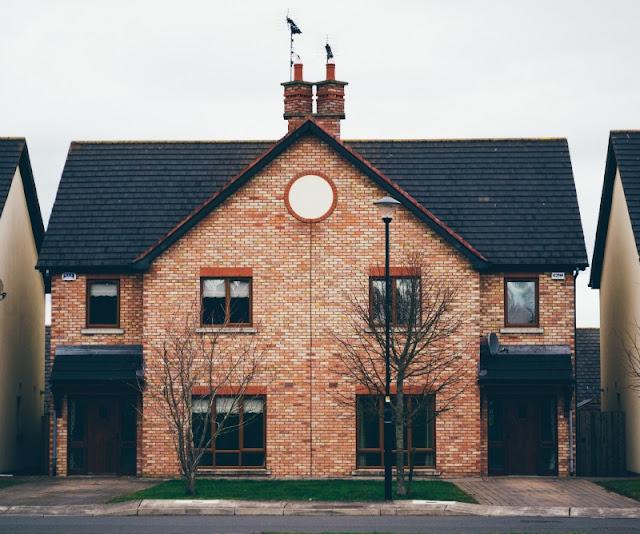 Home, a house.