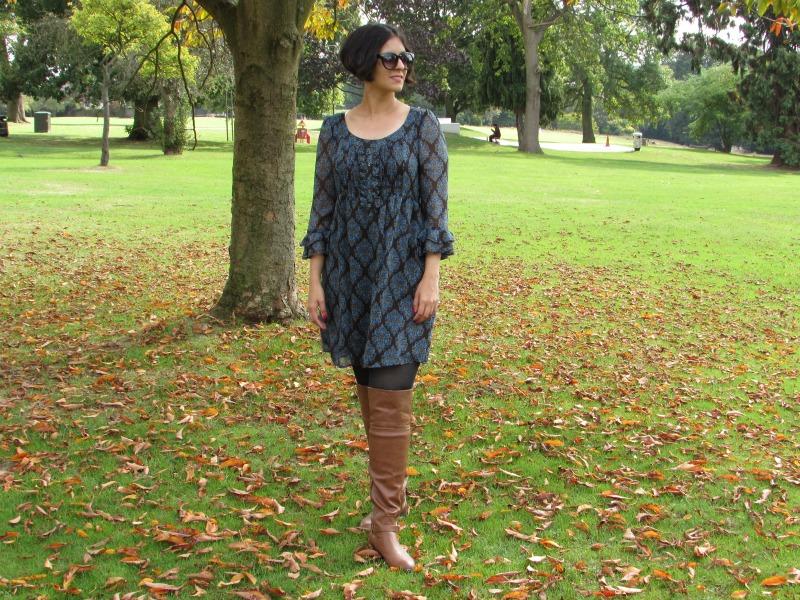 A dress for autumn