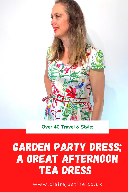 Garden Party Dress; A Great Afternoon Tea Dress: