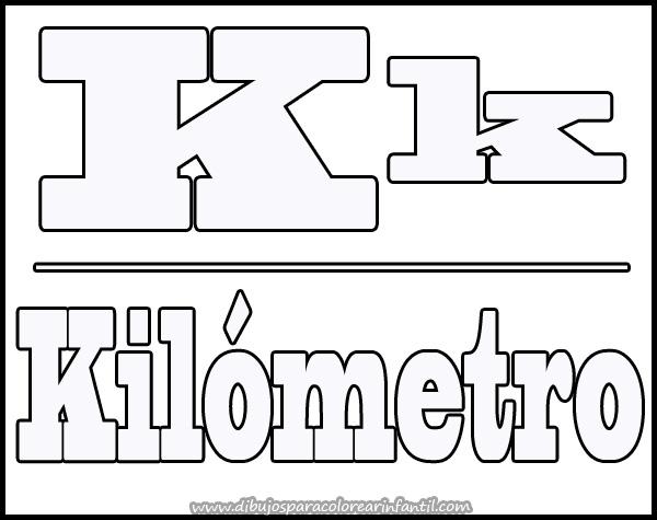 Dibujos Para Colorear Letra Q: Figuras Con K
