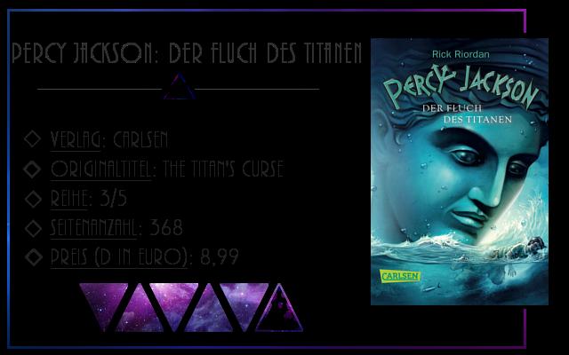 [Rezension] Percy Jackson: Der Fluch des Titanen - Rick Riordan
