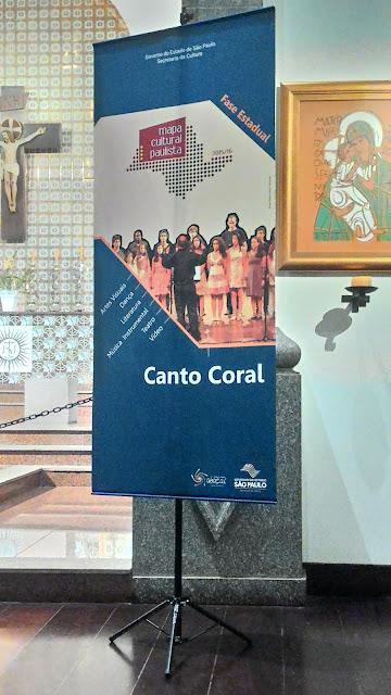 Coral Laurindo de Almeida se apresenta na Fase Estadual do Mapa Cultural Paulista